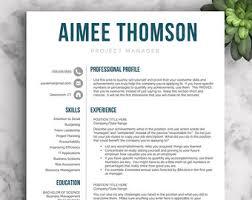 Etsy Resume Template Best Of Modern Resume Style Etsy Benialgebraincco