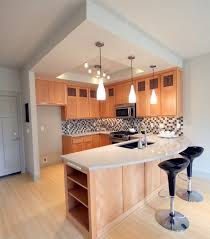Innovative Kitchen Design For Small Area 25 Best Ideas About Modern U  Shaped Kitchens On Pinterest