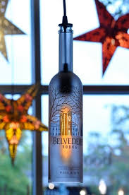 recycled bottle belvedere pendant lamp hanging bottle pendant hanging lamp with edison lightbulb