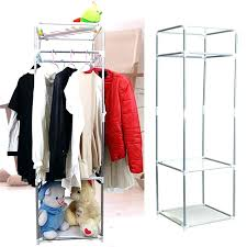 portable closet storage organizer wardrobe racks zip up new oat metal frame