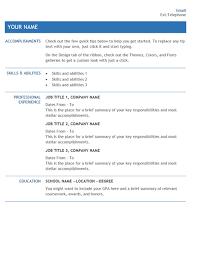 Internal Resumes Resume For Internal Company Transfer