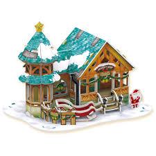 Набор для творчества <b>CubicFun</b> 3D пазлы <b>Рождественский</b> ...
