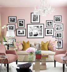 Pink And Green Living Room Home Inspiration Decorating With Blush Pink The Green Eyed Girl