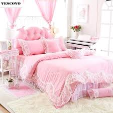 new gift cotton twin full queen king size girls double single bed skirt duvet cover teenage