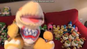 goodman puppet sml. video - the only known footage of bowser junior puppet   supermariologan wiki fandom powered by wikia goodman sml 2
