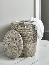 Accessories: Easy Carry Red Laundry Basket - Unique Laundry Hampers