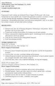 ... Samples Tremendous Direct Support Professional Resume 8 Professional  Direct Support Templates To Showcase ...