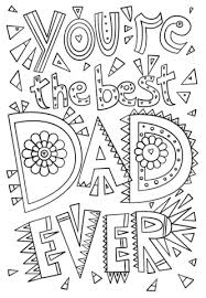Small Picture Youre the Best Dad Ever coloring page Free Printable Coloring Pages