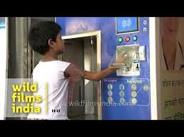 Vending Machines Price List Enchanting Young Boy Uses Swajal Water Vending Machine Rs 48 Per Litre YouTube