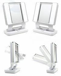 ott lite natural daylight makeup mirror white chrome 26 watt 787734043724 ebay