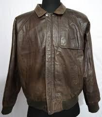 durkee s express men s map printed liner flight cowhide leather jacket l 35 1 4 kg