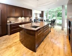 light wood floors with dark cabinets eat in kitchen large contemporary light wood floor and beige light wood floors with dark cabinets