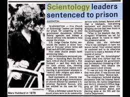 Image result for Scientology criminal convictions