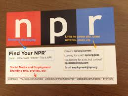 How To Design A Corporate Recruiting Calling Card Amplify Talent