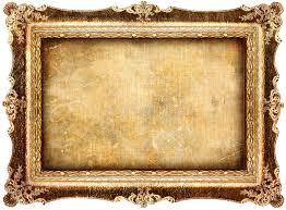 Antique frame stock image Image of gold handmade background
