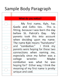 origins essay research the origin of your to discover sample body paragraph my first kyle has gaelic and celtic ties