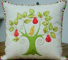 First Day of Christmas Pillow Cover Pattern - $11.00 ... & First Day of Christmas Pillow Cover Pattern Adamdwight.com