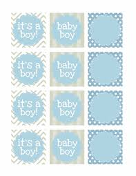 Boy Oh Boy Baby Shower Tags  Dazzling DaisiesBaby Shower Tag