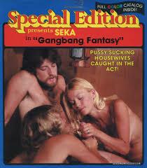 Special Edition SK 104 Gangbang Fantasy Vintage 8mm Porn 8mm.