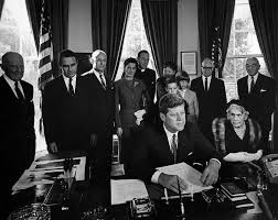 ar c president john f kennedy signs bill to establish the ar6818 c president john f kennedy signs bill to establish the woodrow wilson memorial commission