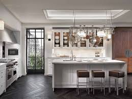 rustic white kitchen ideas. Delighful White Beautiful And Simple White Modern Rustic Kitchen Ideas With Hangers  Cookware On Top Elegant Island Stool Plus Cabinets  For I