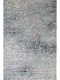 embellish matrix squares transitional rug teal grey 23037 953