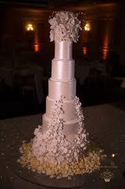 Decadent Sugar Flower Bespoke Wedding Cake Marriot Grosvenor