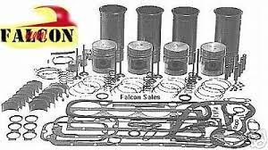 TOYOTA 4P FORKLIFT engine kit gas 1.5L pistons gaskets bearings ...