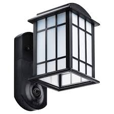 Kuna Maximus Smart Security Light Maximus Craftsman Smart Security Light Textured Black