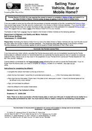florida form 82050 form hsmv 82050 notice of sale and or bill of sale for a motor
