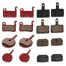 <b>1 Pair</b> Metal Pads For <b>Bike</b> Disc <b>Bicycle</b> Brake <b>Bike Semi</b>-<b>Metallic</b> ...
