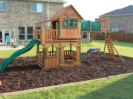... Ideas Collection Step by Step How to Border A Playground area About Backyard  Playground ...