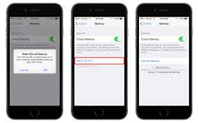 How To Backup Iphone Data 2017 Ios Learn In 30 Sec From