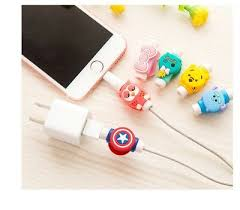 <b>Cable Protector</b> Saver Cover For apple iPhone ipad usb cord ...