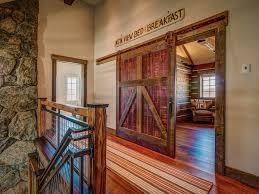 guest room entry barn door