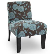 Blue And Brown Accent Chair Deco Accent Chair Sunflower Hayneedle