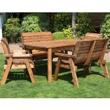 wood porch furniture.  Porch Redlands 6 Seater Rectangular Bench And Chairs Small Garden Dining Set With Wood Porch Furniture U