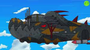 Sky Monster Airplane - Phim hoạt hình về xe tăng [Gerand VN] - YouTube