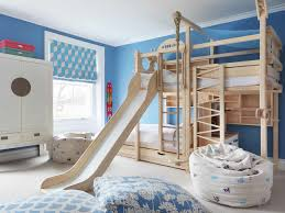 unique childrens bedroom furniture. Bedroom, Exciting Childrens Furniture Stores Children\u0027s Bedroom  Wooden Bank Beds With Slide Cupboard Unique Childrens Bedroom Furniture