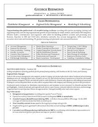 Sales Position Resume Examples Regional Sales Resume Example