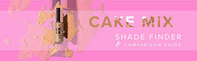 Cake Mix Foundation Dupe Chart Your Guide To Cake Mix