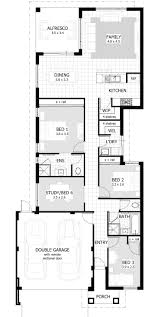 bedroom house plans home designs celebration homes for the narrow lot garage b d a full