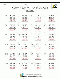 5th Grade Mixed Fractions Math Worksheet Worksheets Decimals And ...