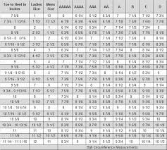 Nike Ice Skate Size Chart 57 Timeless Graf Sizing Chart