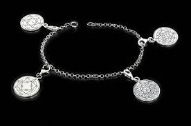 king solomon seal charm bracelet