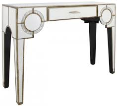 mirror console table. Angelo Antique Mirrored Console Table - 1 Drawer Mirror