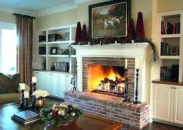 brick fireplace mantels. Brick Fireplace Surround Mantels Stunning Tittle Surrounds S
