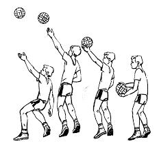 Реферат Волейбол com Банк рефератов сочинений  Продолжается движение руки сзади вперед удар по мячу производится впереди сзади туловище поворачивается в сторону сетки Верхнюю боковую подачу можно