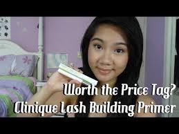 Worth the Price Tag? | <b>Clinique Lash Building Primer</b> - YouTube