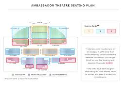 Segerstrom Center Seating Chart Your A To Z Guide To Broadway Theater Seating Charts